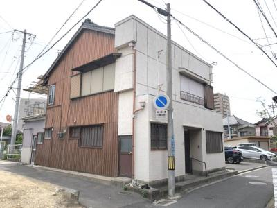【外観】富田二丁目借家