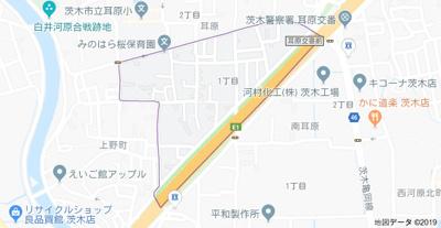 【地図】メゾンけやき