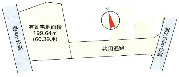 【土地図】河和田1丁目土地