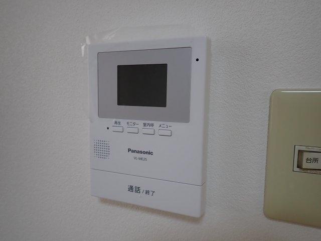 TVモニター付インターホン!