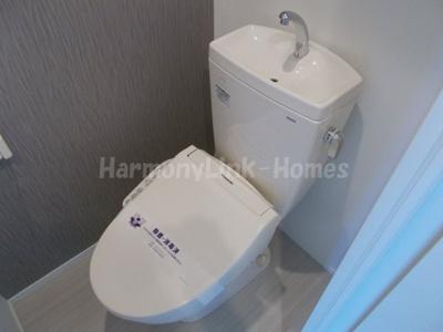 メゾンソフィア南蒲田のコンパクトで使いやすいトイレです(別部屋参考写真)