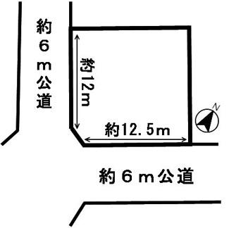 【区画図】53805 岐阜市加野土地