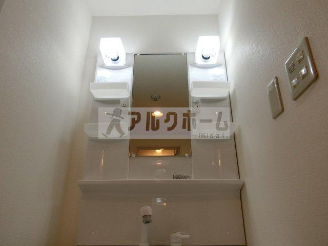 パブリックマンション(柏原市旭ケ丘) 独立洗面台