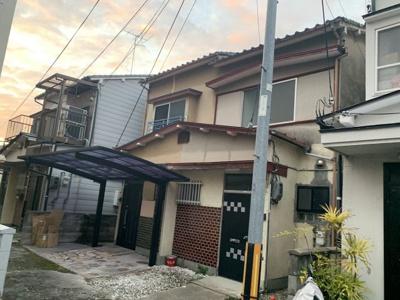【外観】南区東九条松田町 売土地