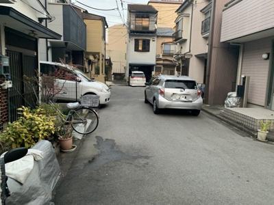 【前面道路含む現地写真】南区東九条松田町 売土地
