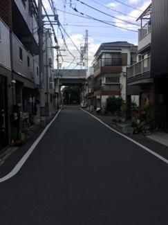 見通しの良い前面道路