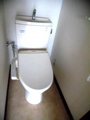 【トイレ】金子貸店舗事務所