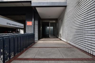 【玄関】ストークマンション桜川