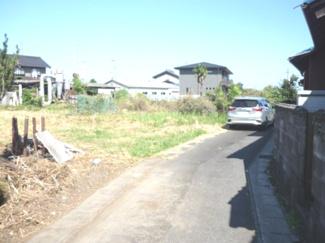 【前面道路含む現地写真】53802 羽島市正木町上大浦土地