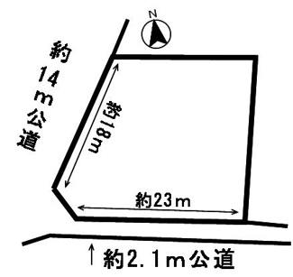 【区画図】53642 羽島市足近町土地