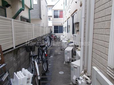 フェリスシャンの駐輪スペース
