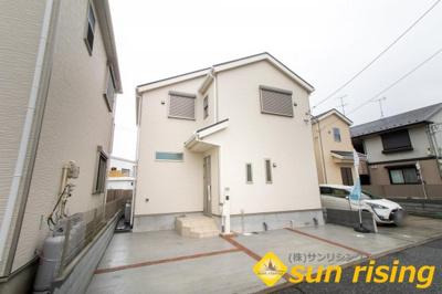 【外観】福生市熊川 新築一戸建 全1棟 1号棟