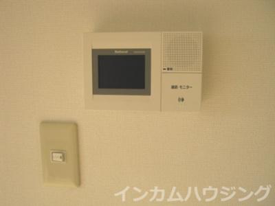 安心のTV付きインターフォン