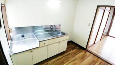 【キッチン】アパートメント昭和