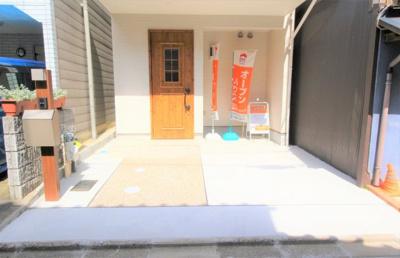 【駐車場】紫野西藤ノ森町 新築戸建