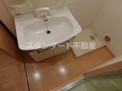【洗面所】三恵グランドハイツ
