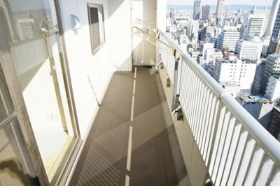 【バルコニー】ライオンズマンション大阪スカイタワー