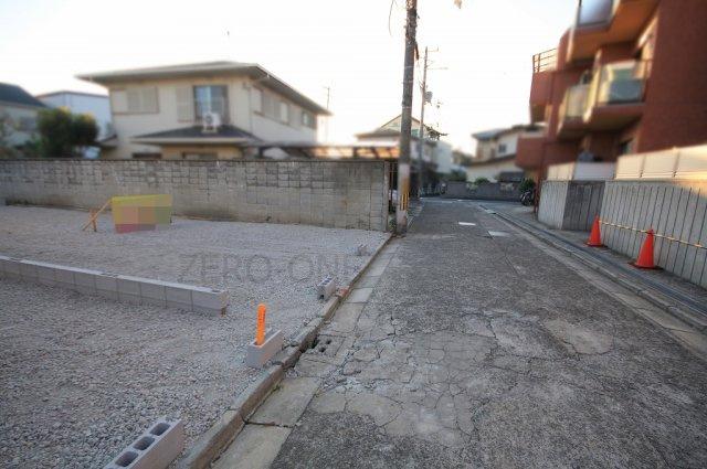 【前面道路含む現地写真】堺市西区浜寺諏訪森町東 売り土地