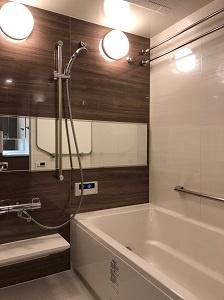 【浴室】クレヴィアタワー大阪本町