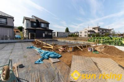 【外観】武蔵村山市残堀4丁目 新築一戸建 5号棟