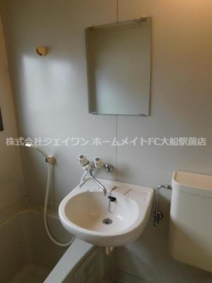 【洗面所】清水コーポ