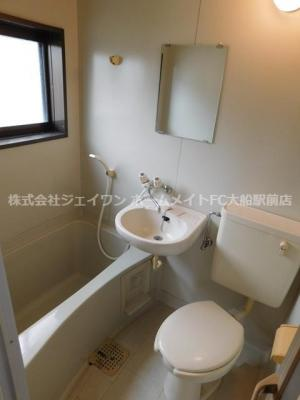 【浴室】清水コーポ