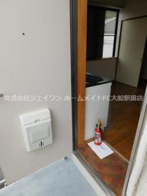 【玄関】清水コーポ