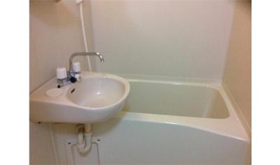 【浴室】レオパレスPOLARIS