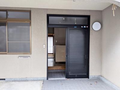 【玄関】京都市東山区泉涌寺東林町