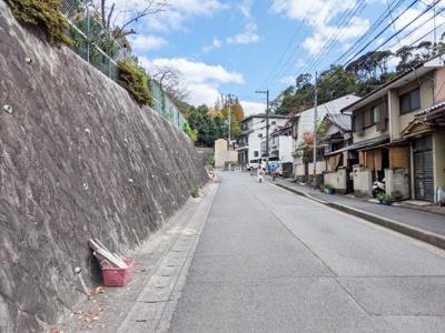 【前面道路含む現地写真】京都市東山区泉涌寺東林町