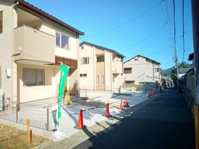 【前面道路含む現地写真】一乗寺釈迦堂町 新築戸建