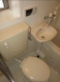 【浴室】《木造8.89%!》横浜市神奈川区栗田谷一棟アパート