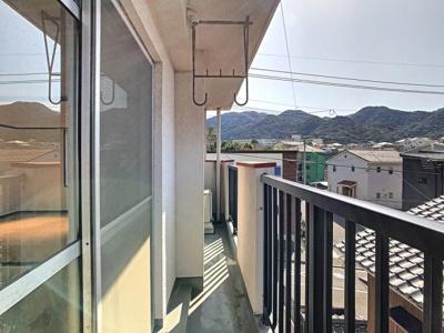 【バルコニー】グリーンハイツ東新町