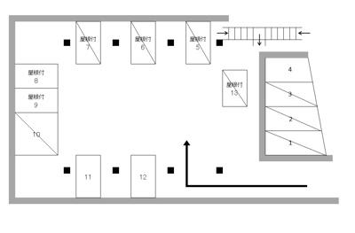 【区画図】貴船町4丁目A駐車場