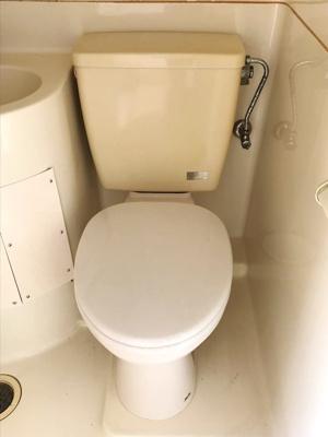 【トイレ】向山ハイツ