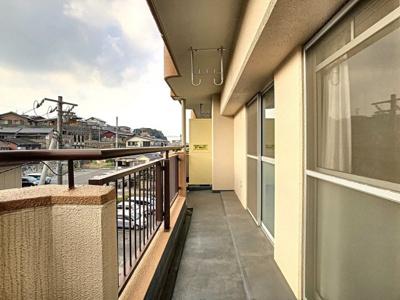 【バルコニー】サンアベニュー羽山