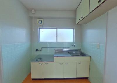 【キッチン】緑風ハイツ