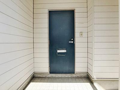【エントランス】西大坪町アパート