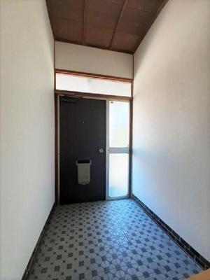 【玄関】中野アパート