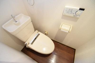 【トイレ】ヒルサイドコートII棟