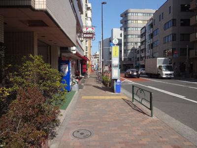 深澤ビル 物件前 尾竹橋通り沿いの物件です