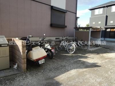 有料駐輪場
