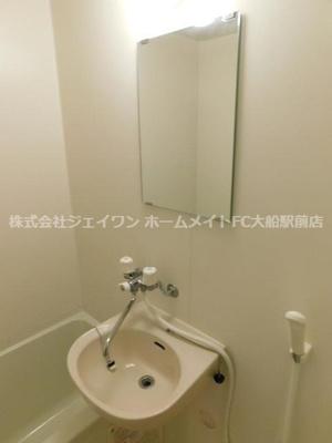 【洗面所】アンシャンテ大船