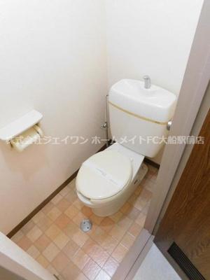 【トイレ】DIKマンション大船