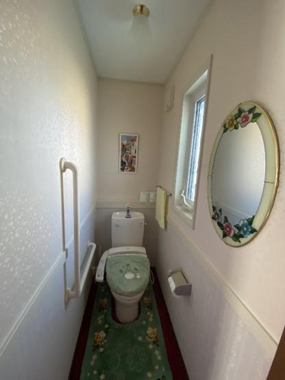 【トイレ】長浜駅徒歩圏、三井ホーム施工の中古一戸建て