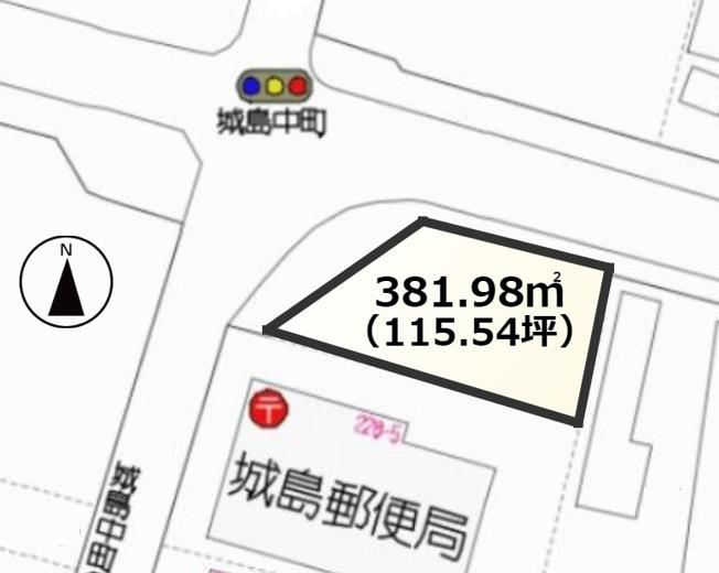 【土地図】久留米市城島町城島土地