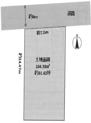 【区画図】箕面市桜井3丁目 新築戸建