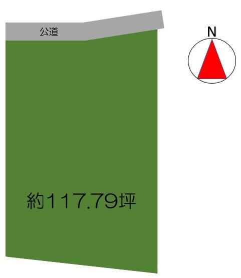 【土地図】売地:足利市松田町 119坪