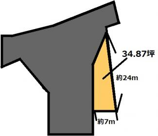 【土地図】高浜 175万円