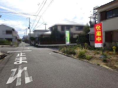 【前面道路含む現地写真】神戸市垂水区星陵台7丁目 新築戸建